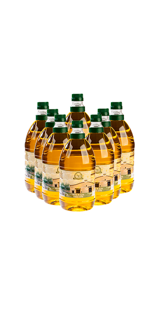 pack 8 garrafas 2 litros aceite de oliva virgen extra
