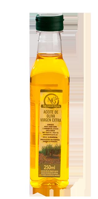 botella 250 ml aceite de oliva virgen extra