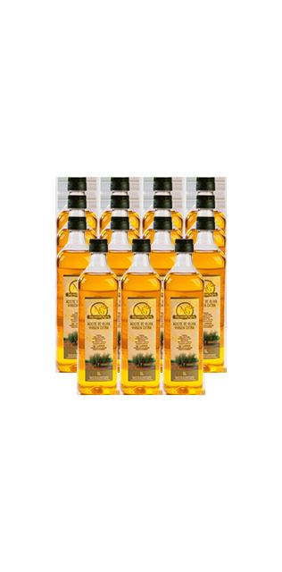 pack 15 botellas 1 litro aceite de oliva virgen extra
