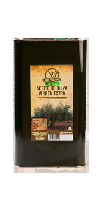 Aceite Oliva Virgen Extra Ecológico Lata 3 L