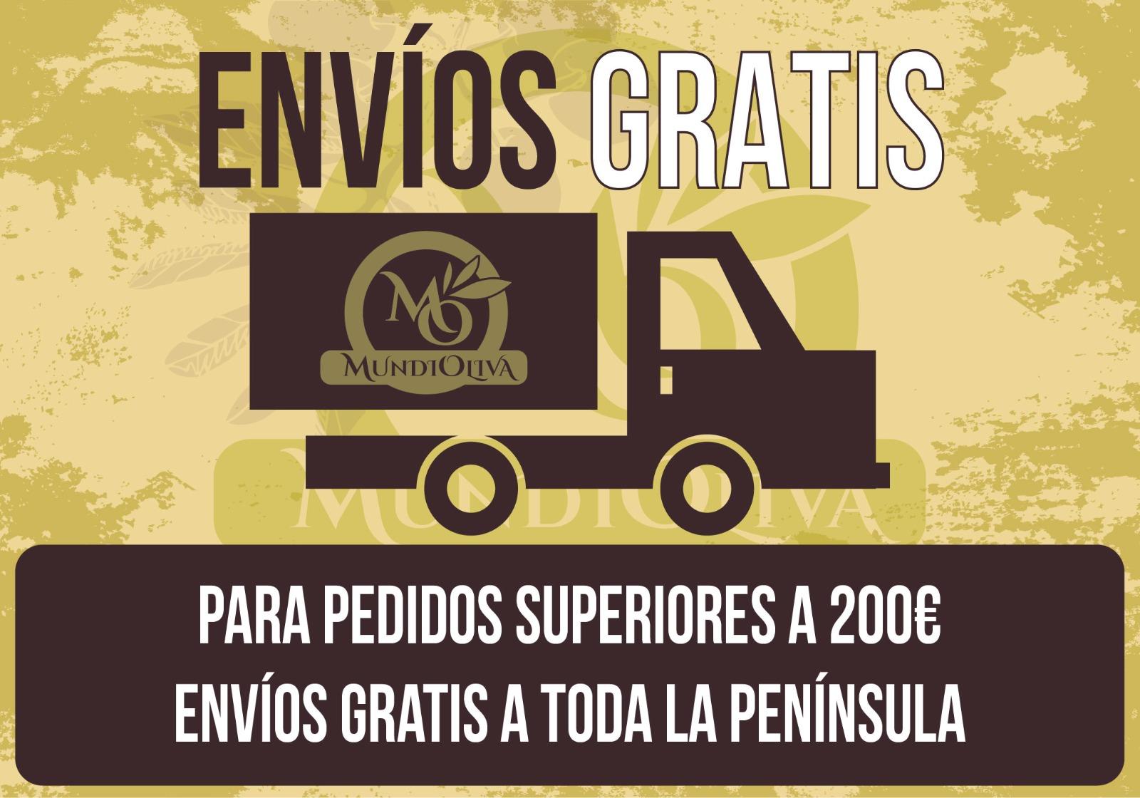 Envío Gratis por compras + 200 euros
